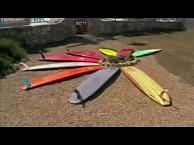 Surfboard Quiver by Ale Staffa, Sardinia Island